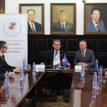 Universiteti i Prishtinës memorandum bashkëpunimi me Agjencinë e Regjistrimit Civil për shkëmbimin e të dhënave