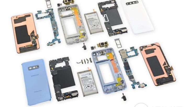 Çmontimi i Galaxy S10, telefoni i vështirë për tu riparuar