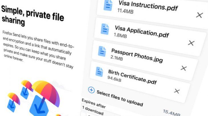Shërbimi i transferimit të të dhënave Firefox Send mbërrin në Android
