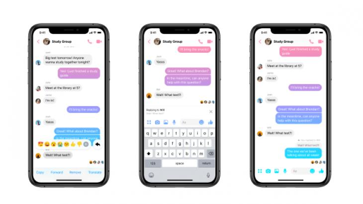Tashmë në Messenger mund të replikoni mesazhet individuale