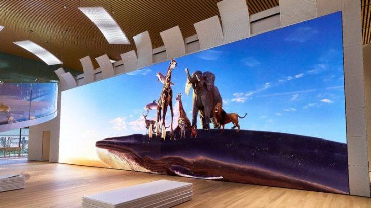 Sony ka ndërtuar një ekran të çmendur 16K