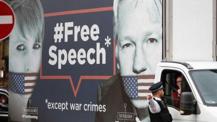 """Ambasada e Ekuadorit e """"dorëzon"""", arrestohet themeluesi i Wikileaks Julian Assange"""