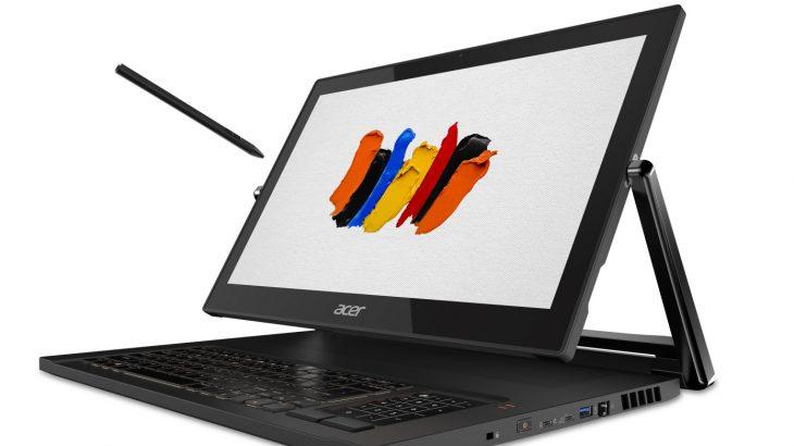 Acer shndërron linjën e laptopëve të lojërave në laptopë për krijuesit