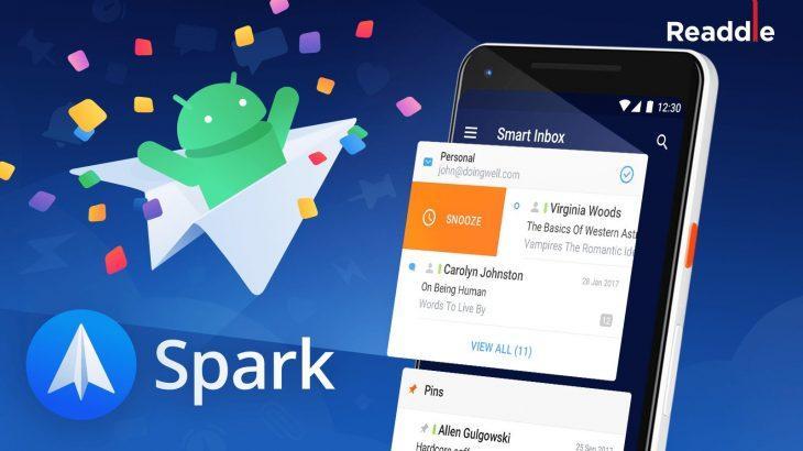 Aplikacioni e-mail Spark mbërrin në Android