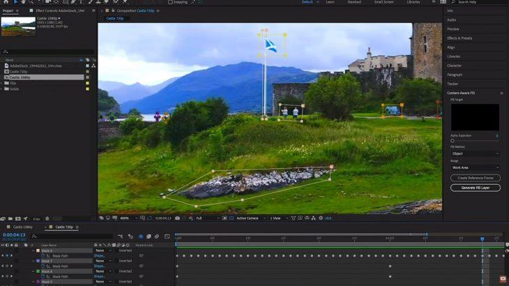 Versioni i ri i After Effects mund të eliminojë objekte të padëshiruara nga videot