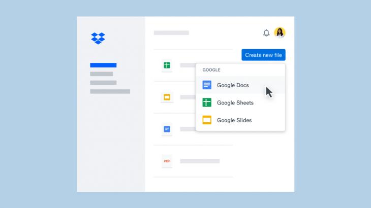 Google Docs, Sheet dhe Slides integrohen në Dropbox