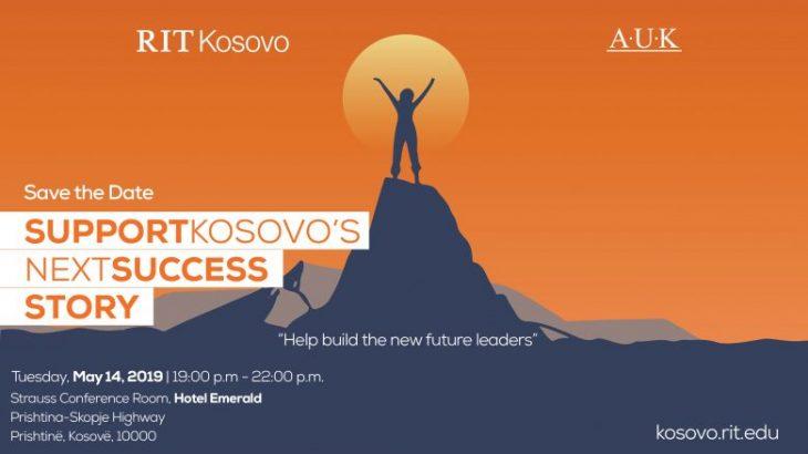 """RIT Kosova (A.U.K), organizon gala mbrëmjen """"Mbështet Storien e Ardhshme të Suksesit të Kosovës"""""""