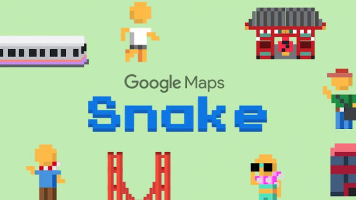Dredhia e 1 Prillit e Google është loja Snake në aplikacionin Maps