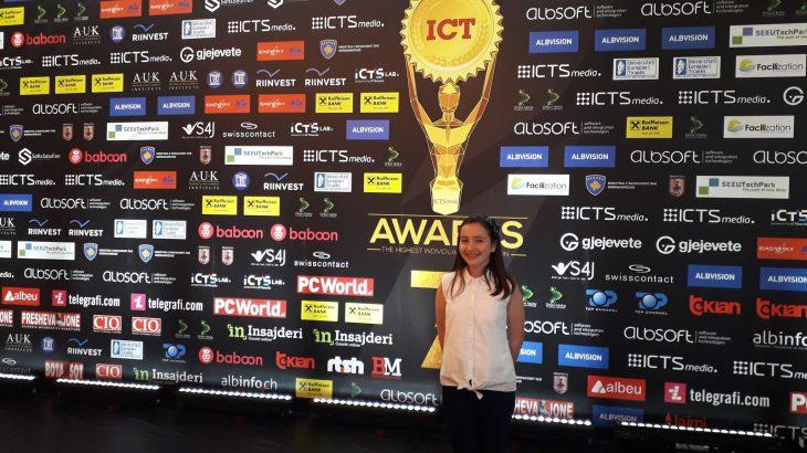 Fiona Meqa: Intervistë me Yllin në Ngritje të edicionit të 7-të të ICT Awards