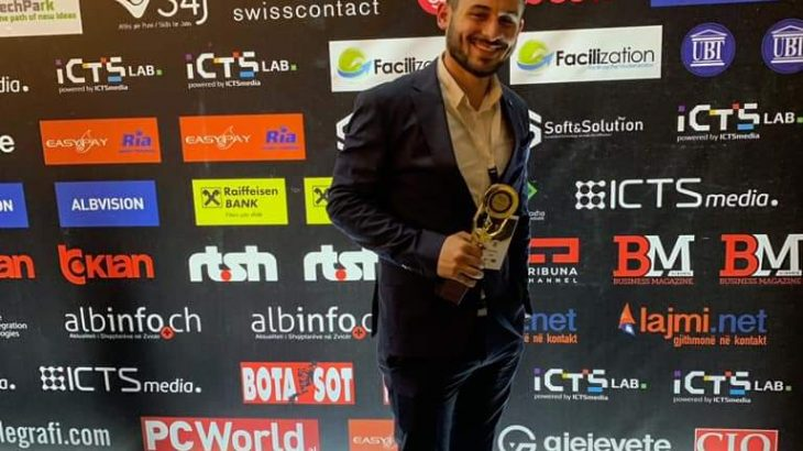 Meridian Miftari: Intervistë me Cyber Security e Vitit në edicionin e 7-të të ICT Awards