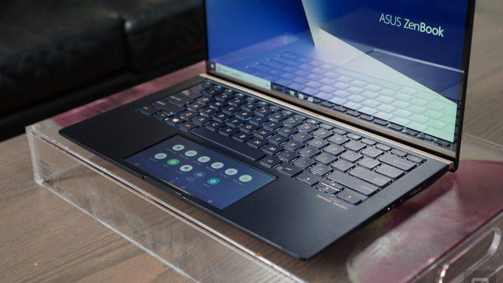 Laptopët ZenBook dhe VivoBook zëvendësojnë trackpadin me një ekran