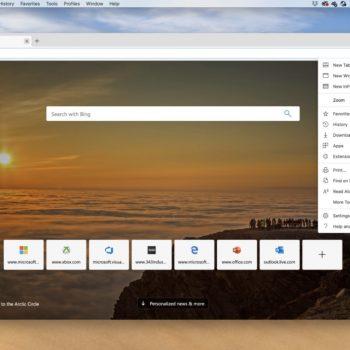 Microsoft lançon Edge ri edhe për kompjuterët macOS