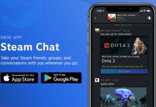Steam Chat mbërrin në Android dhe iOS