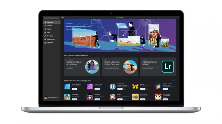 Lightroom rikthehet në Mac App Store