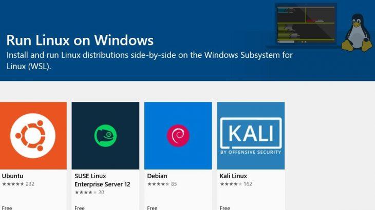 Linux i vërtetë debuton në Windows 10