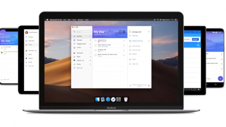Microsoft sjell aplikacionin e detyrave në macOS