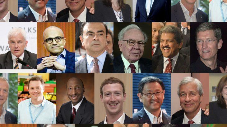 100 ekzekutivët më të mirë në botë sipas Glassdoor