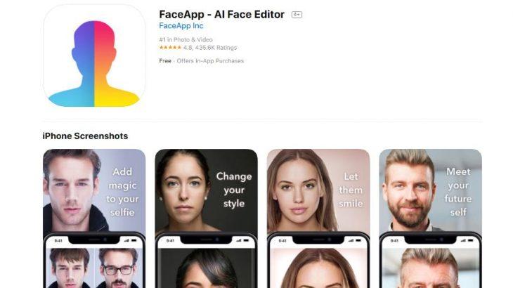 Aplikacioni FaceApp tashmë ka nën kontroll 150 milion fytyra dhe emra njerëzish