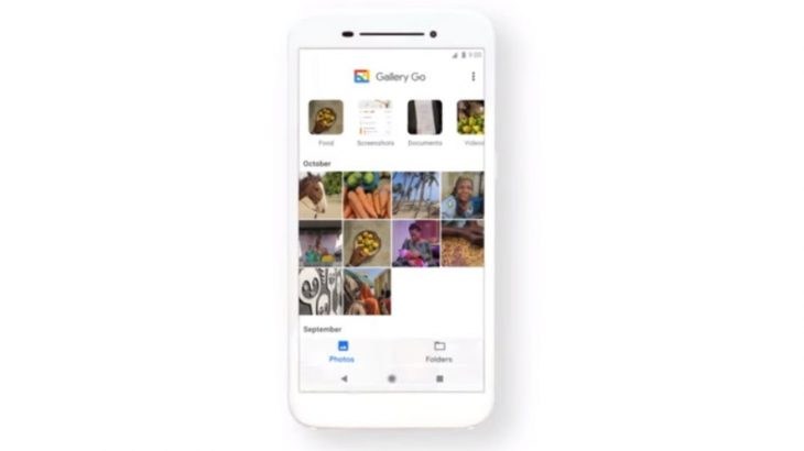 Google Gallery Go është një aplikacion i lehtë për menaxhimin e fotove në Android