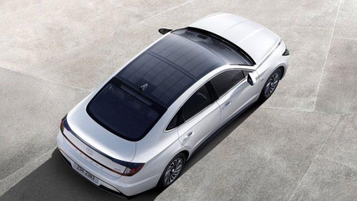 Hyundai prodhon një makinë me panele diellore
