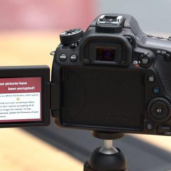 Edhe kamerat DSLR mund të bien pre e ransomware