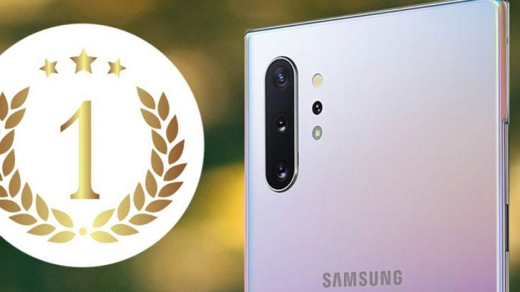 Samsung Galaxy Note 10+ 5G, mbreti i ri i kamerave në listat e DxO