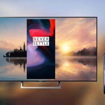OnePlus zbulon madhësinë e televizorit OnePlus TV