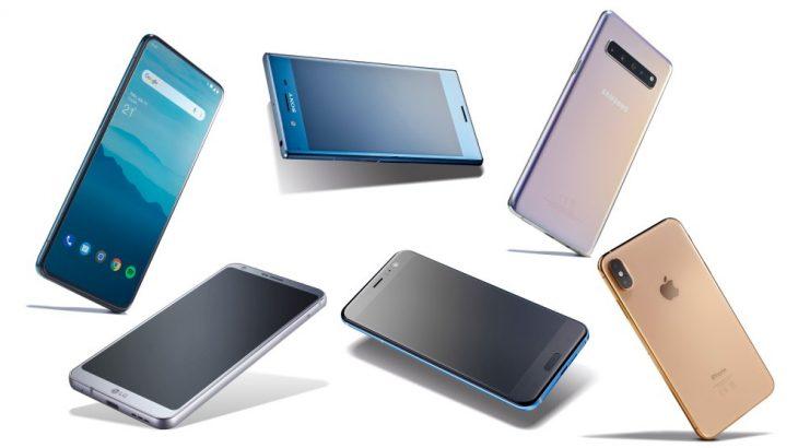 Shitjet smartfonëve vazhdojnë rënien