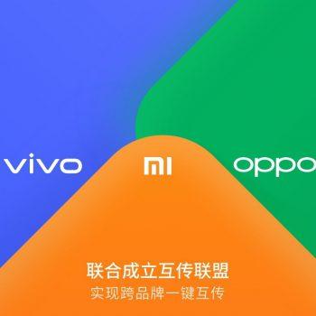 Xiaomi, Vivo dhe Oppo bashkëpunojnë për të transferuar të dhënat mes telefonëve të tyre