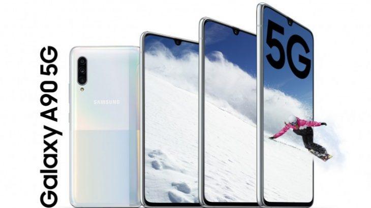 Samsung Galaxy A90 është telefon i rangut të mesëm me specifika të rangut të lartë