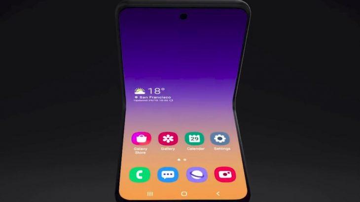 Samsung prezantoi dizajnin e ri të telefonëve me palosje