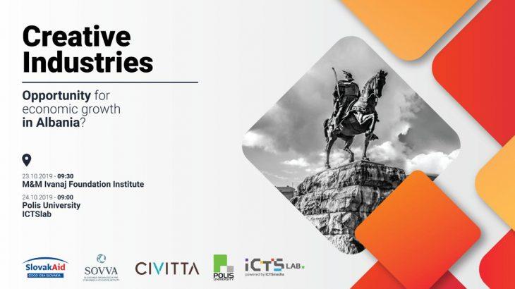 """Tirana mirëpret konferencën rajonale """"Industritë Kreative"""" më 23-24 Tetor"""