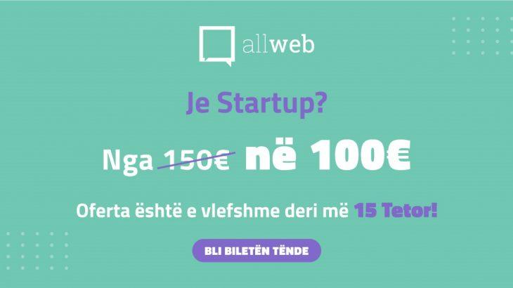 Je startup? AllWeb Albania ka një ofertë për ty