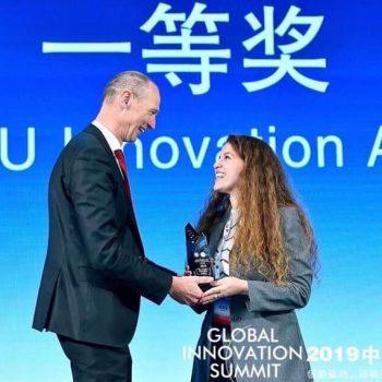 'Samiti Botëror i Inovacionit' në Kinë vlerëson me çmim shqiptaren Serena Leka