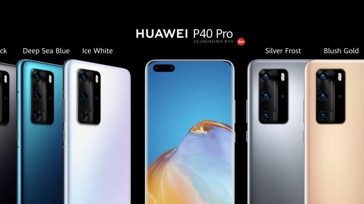 Huawei sjell P40, i pari për lidhje të qëndrueshme në 5G