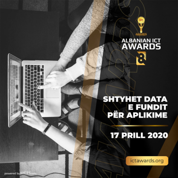 Albanian ICT Awards shtyn deri më 17 Prill afatin e aplikimeve të edicionit të 8-të