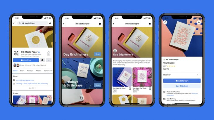 Facebook dëshiron që çdo dyqan fizik të ketë një prezencë online