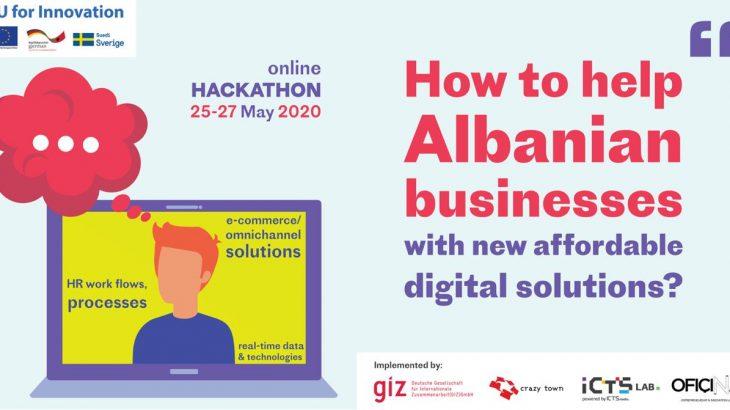 Më 25-27 Maj një hakaton virtual vihet në kërkim të zgjidhjeve dixhitale për bizneset Shqiptare