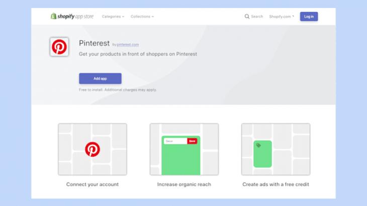 Tregtarët e Shopify tashmë mund të shesin përmes Pinterest