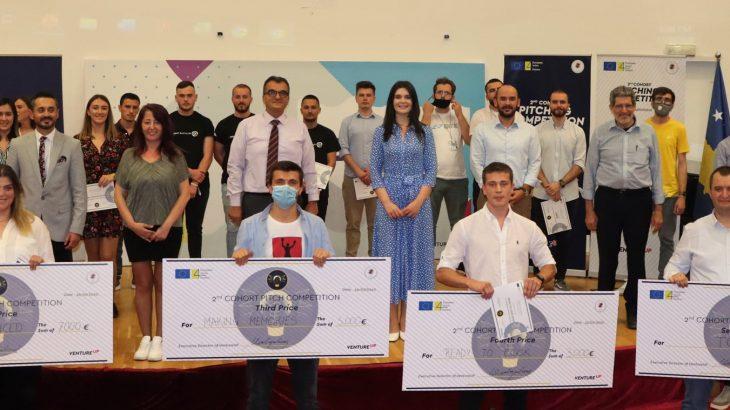 Qendra e Ndërmarrësisë dhe Inovacionit VentureUP shpalli startupet fituese të programit 14-javor të inkubimit