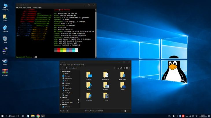 Sistemi operativ Linux që është një kopje e gjallë e Windows 10