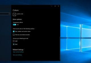 Ja sesi të aktivizoni Dark Mode në Windows 10