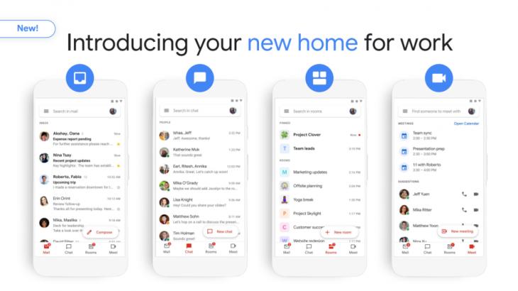 Google ridizajnon Gmail