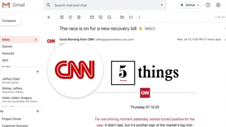 Google teston etiketa verifikimi për e-mailet