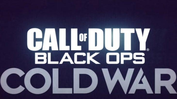 Loja e re Call of Duty do të quhet Black Ops: Cold War
