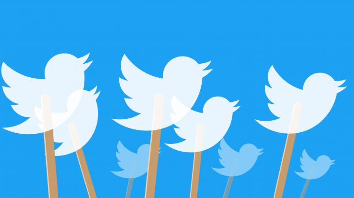 Twitter etiketon mediat shtetërore