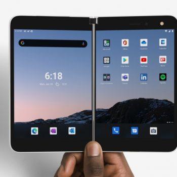 Microsoft zbulon telefonin Android me dy ekrane