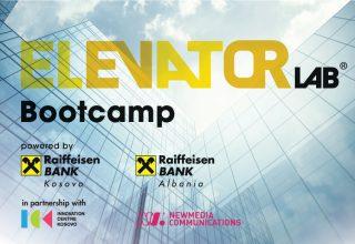 """Raiffeisen Bank në Kosovë dhe Shqipëri prezantojnë programin e përbashkët """"Elevator Lab 2020"""""""