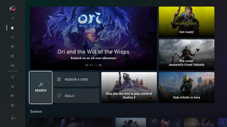 Microsoft lançon ndërfaqen e re të platformës Xbox