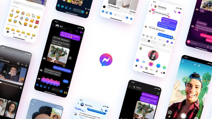 Facebook ndryshon pamjen vizuale të Messenger